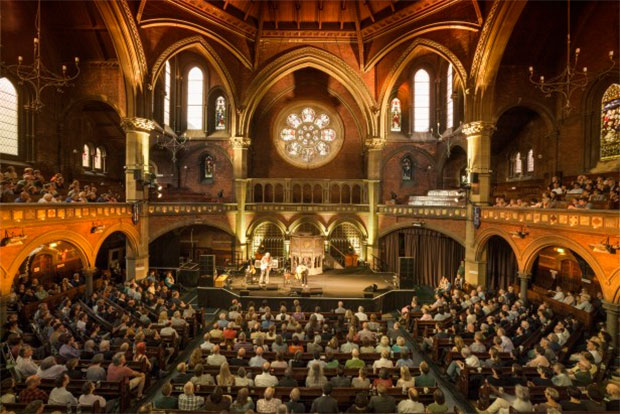 The Union Chapel in North London